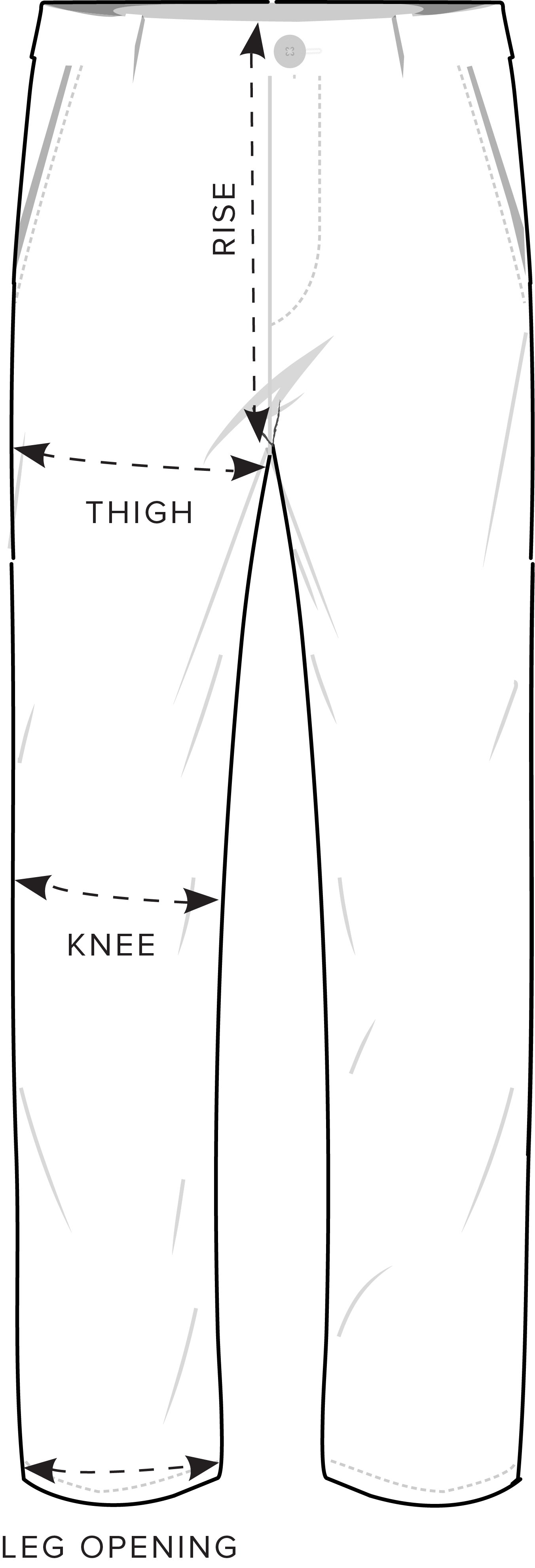 Pants Measurement Guide