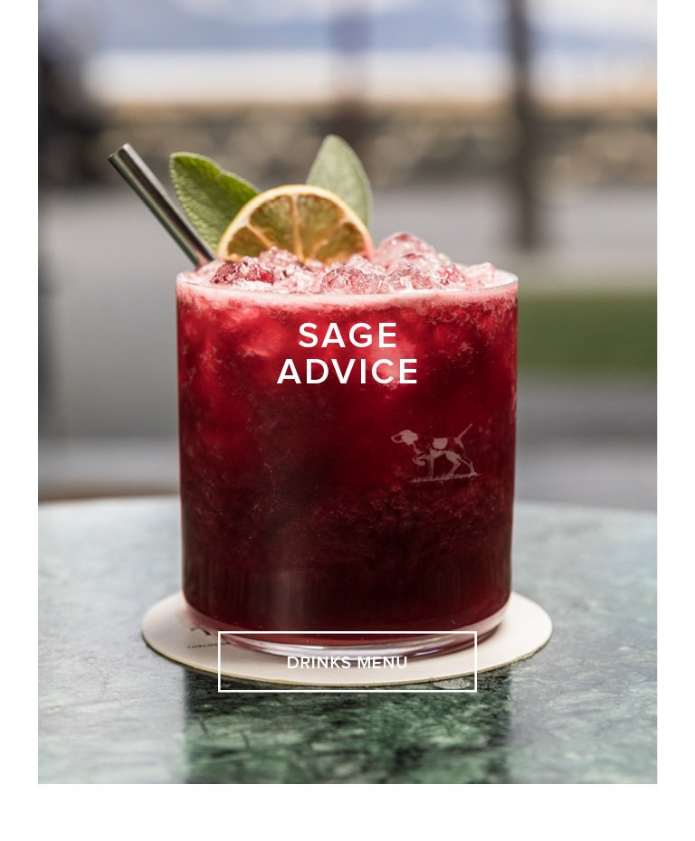 Sage Advice - View Our Drinks Menu