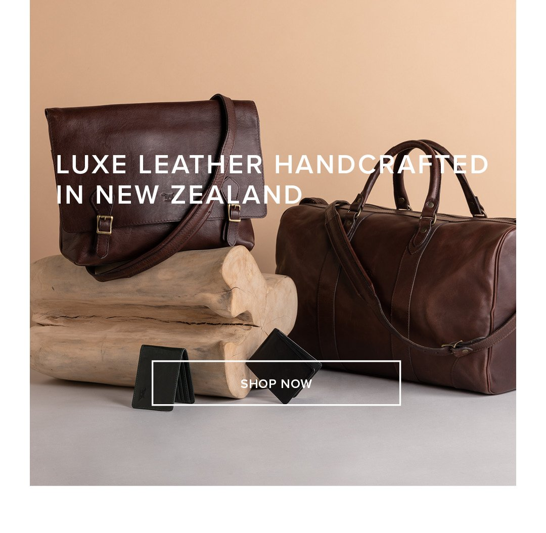 Luxe Leather Handcrafted In New Zealand