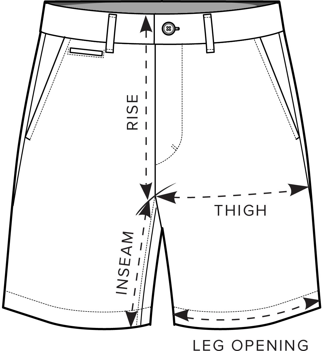 Shorts Measurement Guide