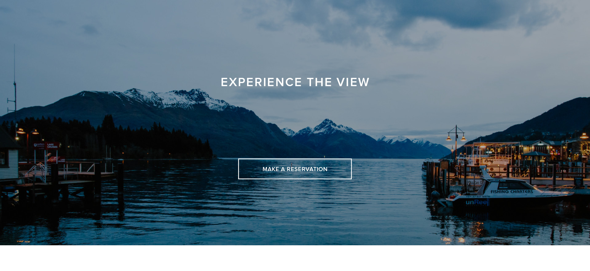 Experience The View - Make A Reservation