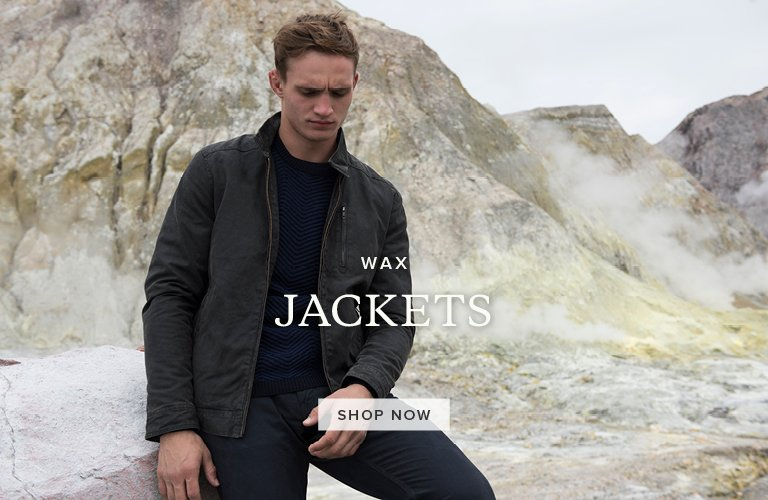 Wax Jackets. Shop Now