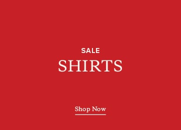 Sale Shirts. Shop Now.