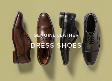 Genuine Leather Dress Shoes src=