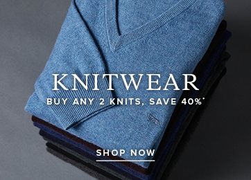 Knitwear. Buy Any 2 Knits, Save 40%. Shop Knitwear