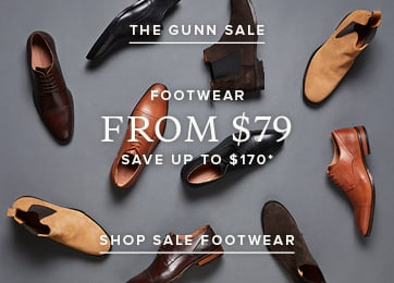 The Gunn Sale - Footwear. Shop Now