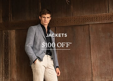 Jackets $100 OFF* - Shop Now src=