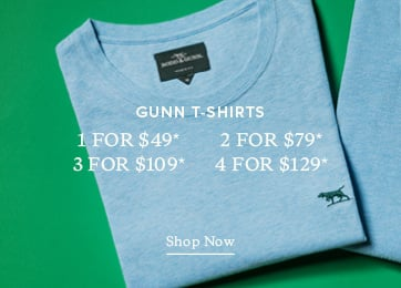Gunn T-Shirt Multibuy - Shop Now.