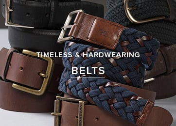 Timeless & Hardwearing - Shop Belts